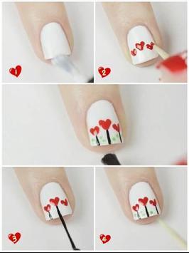 Nail Art Valentine Designs apk screenshot