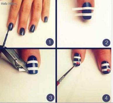 nail art step by step designs screenshot 11
