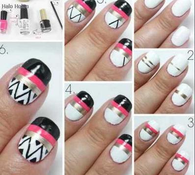 nail art step by step designs screenshot 2