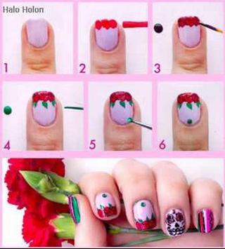 nail art step by step designs screenshot 9