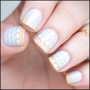 50+ Cute Moyou Nail Art Ideas screenshot 3