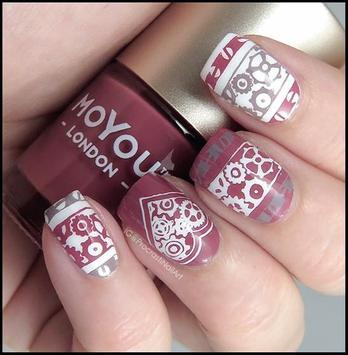 50+ Cute Moyou Nail Art Ideas screenshot 5