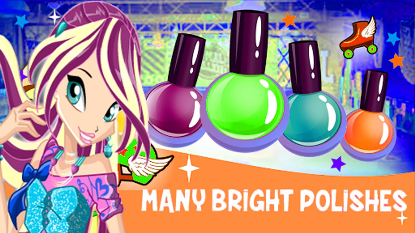 Nail Salon Bloom Winx for Android - APK Download