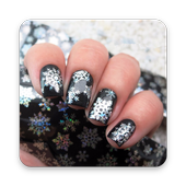 SNOWFLAKE NAILS icon