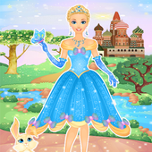 Cindrella Makeup Salon & Dress up Games For Girls icon