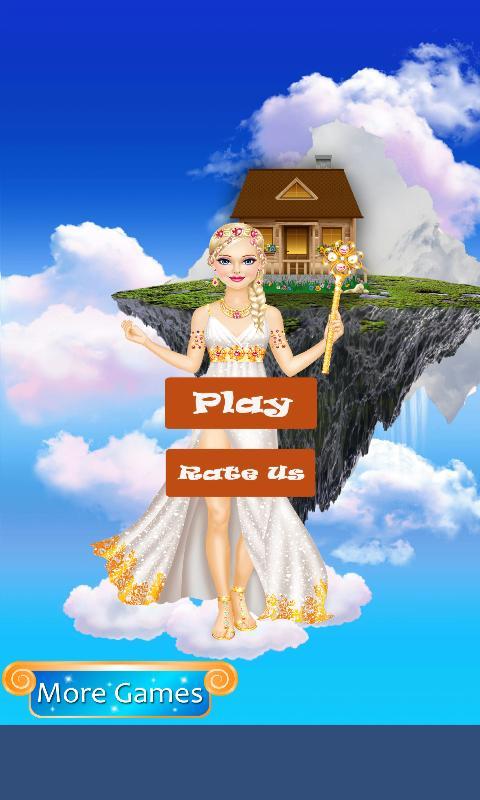 Fantasy Princess Salon & Dress Up Games For Girls poster