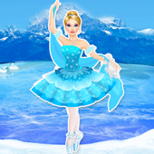 Frost Ballerina Salon & Dress Up Games For Girls icon