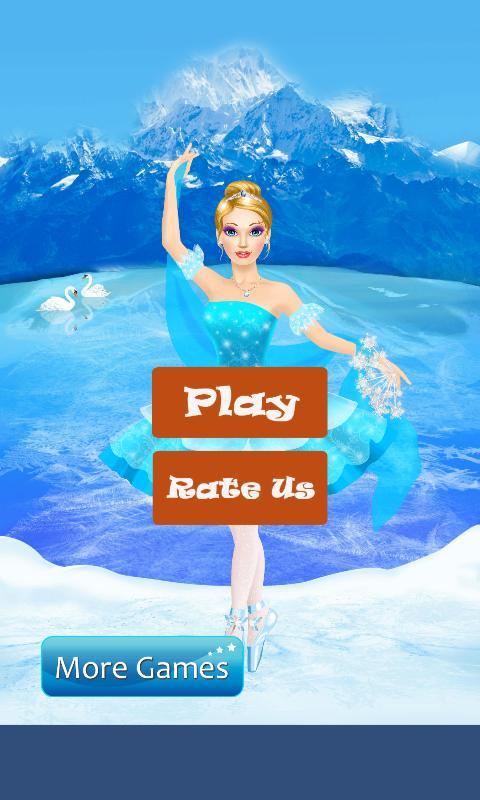 Frost Ballerina Salon & Dress Up Games For Girls poster