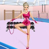 Gymnastics Dance Dress Up Games & Salon For Girls icon