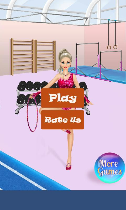 Gymnastics Dance Dress Up Games & Salon For Girls poster