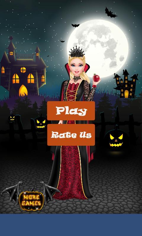 Halloween Makeup Salon & Dress Up Games for Girls poster
