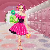 High School Dress Up Games For Girls & Make Up icon