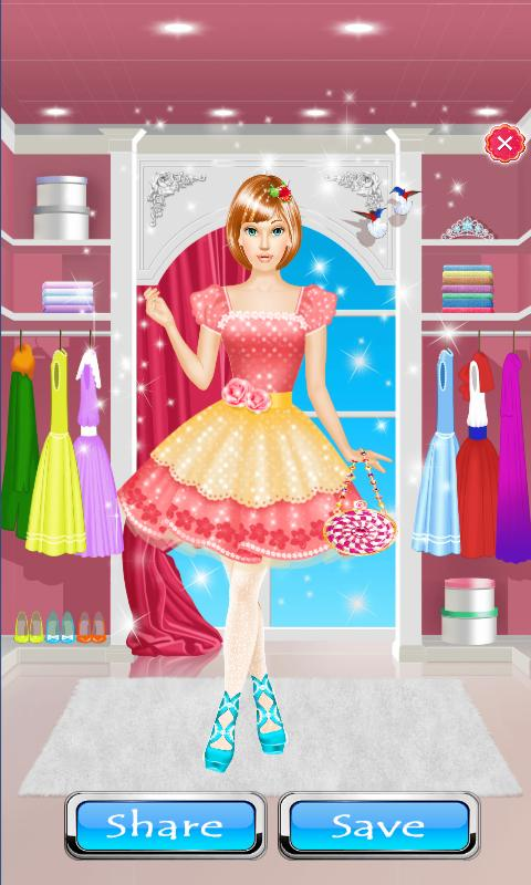 77f4e0301be4 High School Dress Up Games For Girls   Make Up for Android - APK ...