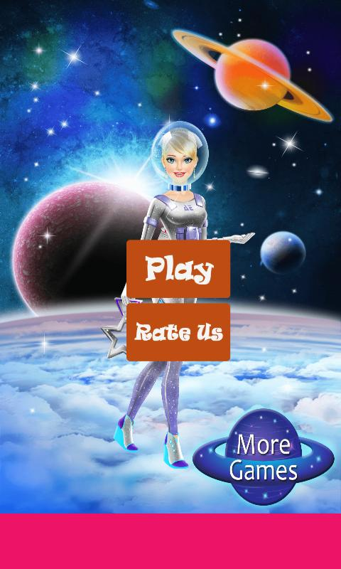 Space Girl Salon and Dress Up Games For Girls poster