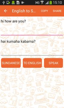 English to Sundanese Translator and Vice Versa screenshot 5