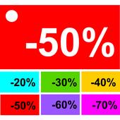 Sales Price Calculator Off icon