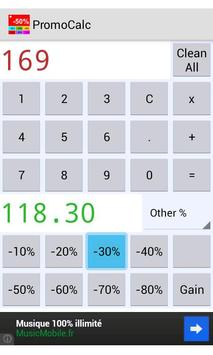 Sales Price Calculator Off poster
