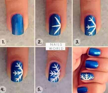DIY Nail Art Design Ideas poster