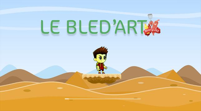 Le Bled'art Merguez poster