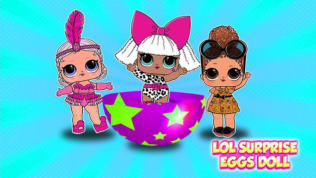 lol dolls oppening eggs screenshot 6