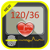 Finger Blood Pressure Prank icon
