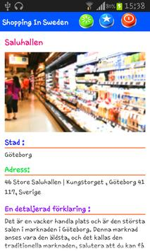 Shopping in Sweden apk screenshot