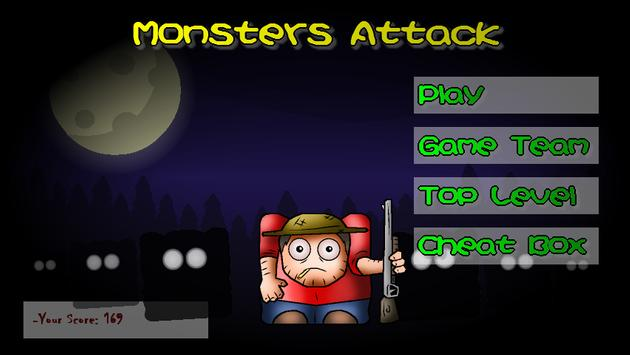 Monsters Attack poster
