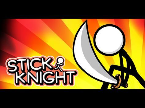 STICK KNIGHT poster