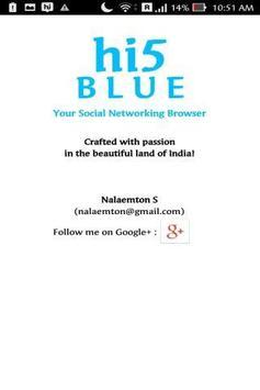 Hi5 Blue apk screenshot