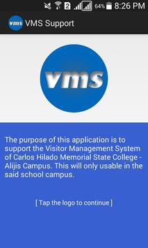 VMS Support poster