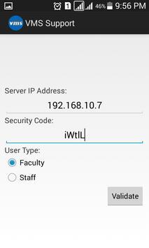VMS Support apk screenshot