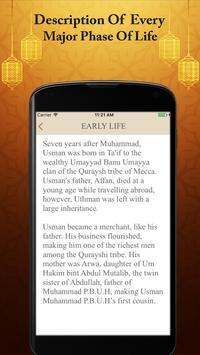 Hazrat Usman R.A Real Biography Life Quotes Quiz poster