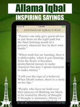 Iqbal's Way Of Life Quotes And Quiz screenshot 4