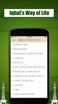 Iqbal's Way Of Life Quotes And Quiz screenshot 1