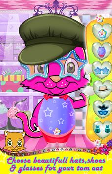 Tom Cat Dress Up and Colouring apk screenshot