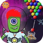 Bubble Shooter : Jobo's Space Adventure Free game icon