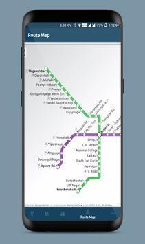 Namma Metro Navigator apk screenshot