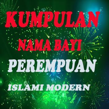 Kumpulan Nama Bayi Perempuan Islami Modern Lengkap poster