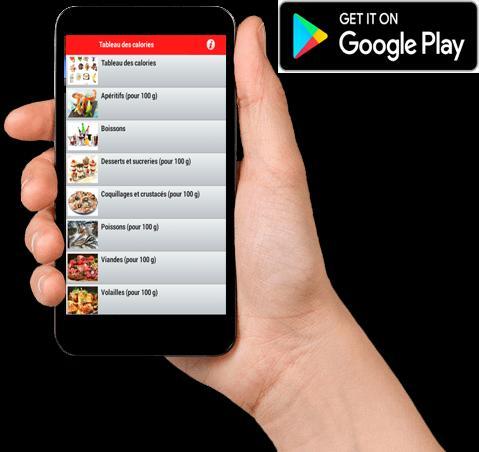 Tableau Des Calories For Android Apk Download