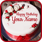 Name On Birthday Cake - Special Birthday Wishes icon