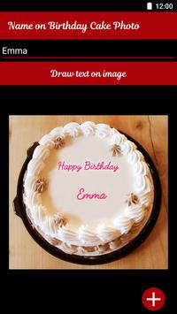 Name On Birthday Cake - Special Birthday Wishes screenshot 1