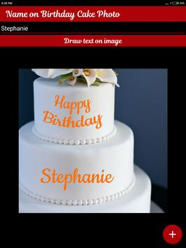 Name On Birthday Cake - Special Birthday Wishes screenshot 4