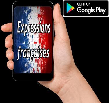 Expressions françaises poster