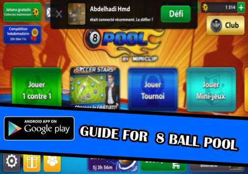 guide for 8 ball pool tips apk screenshot