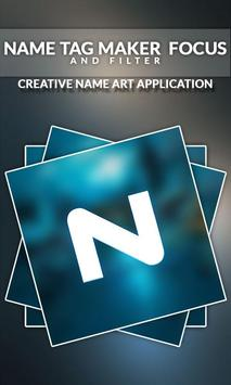 Name Tag Maker - Focus and Filter screenshot 14