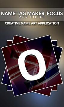 Name Tag Maker - Focus and Filter screenshot 2
