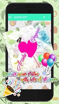 Name Art - Focus n Filter poster