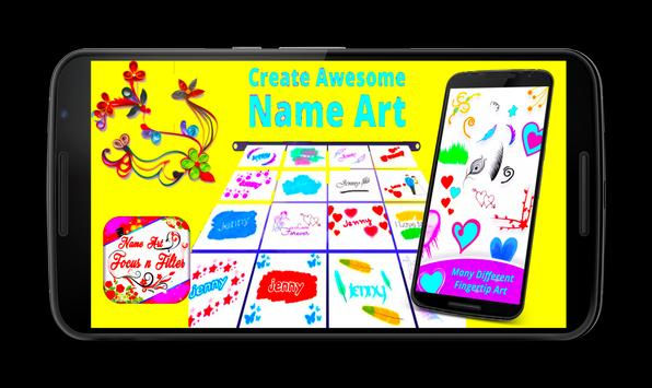 Name Art Focus And Filters screenshot 1