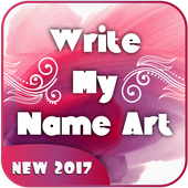 write My Name Art icon