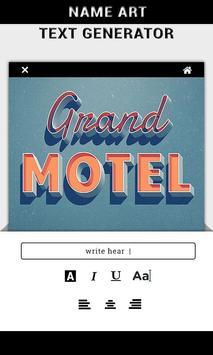 Name Art - Text Generator screenshot 1